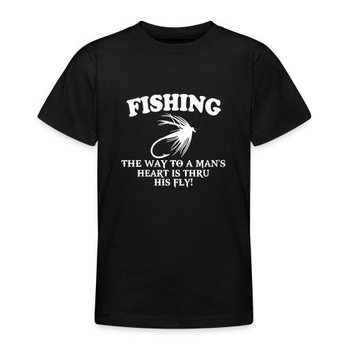 Fly Fishing Shirt - Teenage T-shirt