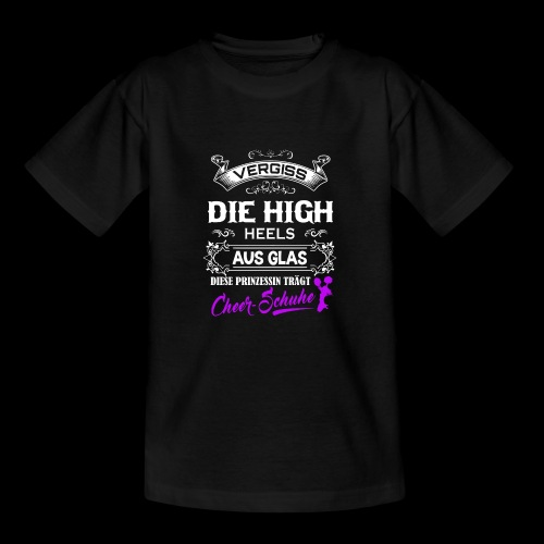 Cheerschuhe statt High-Heels - Teenager T-Shirt