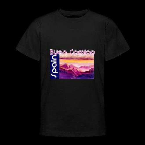 Spain: Buen Camino. Jakobsweg - Teenager T-Shirt