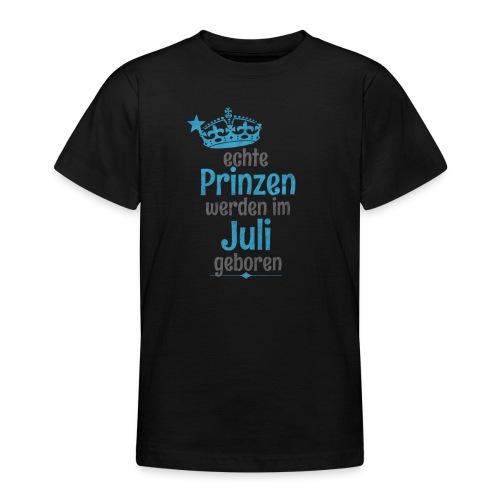 Echte Königinnen werden im Juli geboren! - Teenager T-Shirt