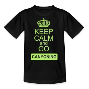 keep calm and go canyoning 2 - Teenager T-Shirt