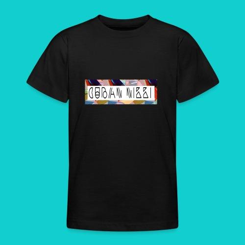 Cuban Nikki Logo - Teenage T-shirt