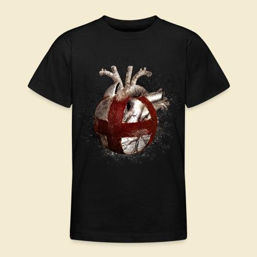 Radball | Cycle Ball Heart - Teenager T-Shirt