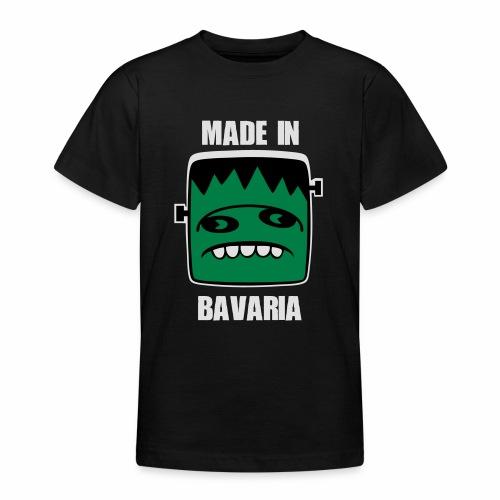 Fonster weiß made in Bavaria - Teenager T-Shirt