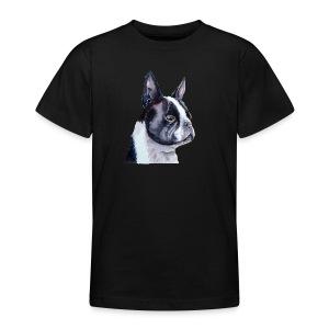 boston terrier - Teenager-T-shirt