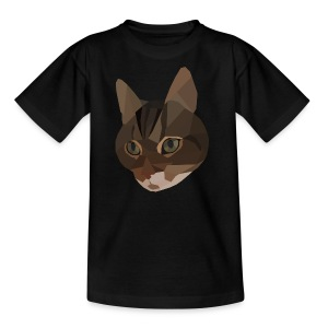 Katze Pancho II - Teenager T-Shirt