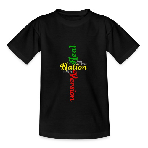 Reggae Healing Gears - Teenage T-Shirt