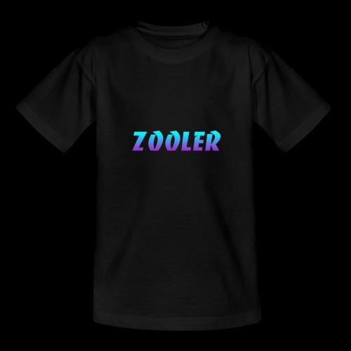 Zooler BANCO blue and purple - T-shirt Ado