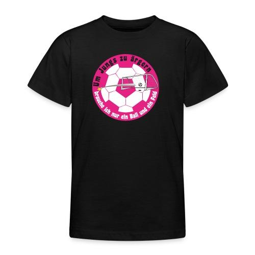 Jungs ärgern - Teenager T-Shirt