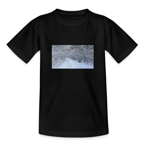 Winter ohne Leben - Teenager T-Shirt