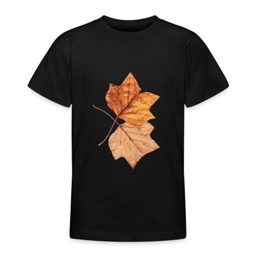 Blätter - Teenager T-Shirt