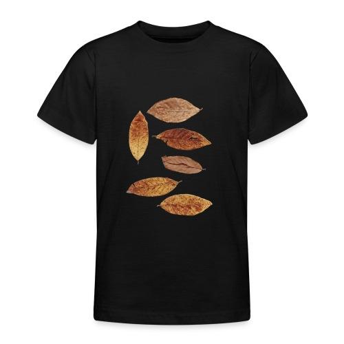 Bunte Blätter - Teenager T-Shirt