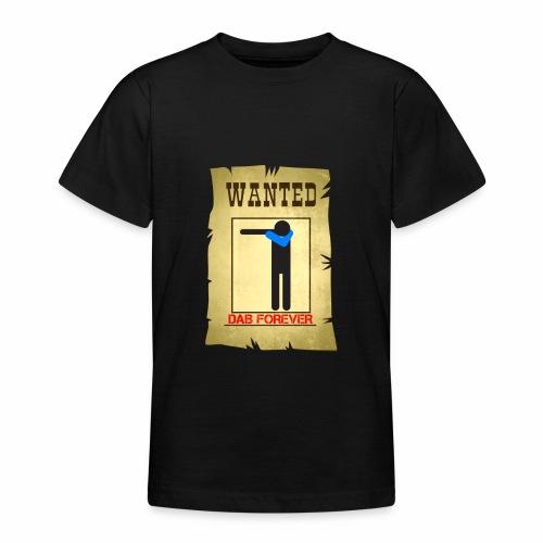 DAB WANTED / Tutti cercano la dab - Maglietta per ragazzi