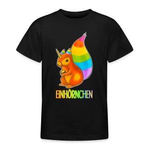 Einhörnchen - Teenager T-Shirt