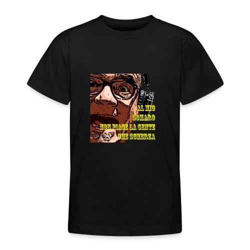 Caro Carlo mio somaro - Maglietta per ragazzi