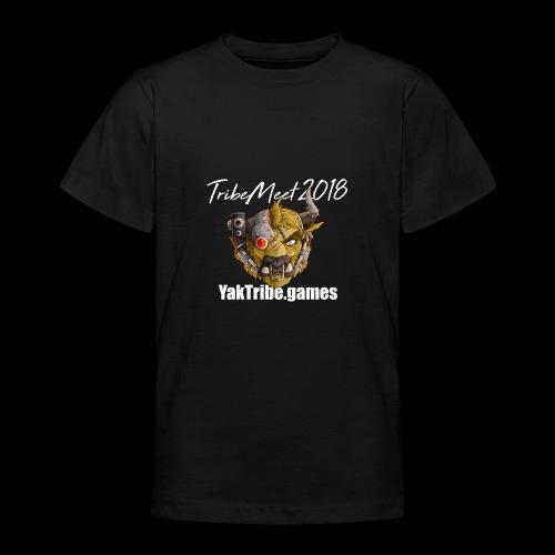 YakTribe Tribemeet 2018 Dark - Teenage T-Shirt