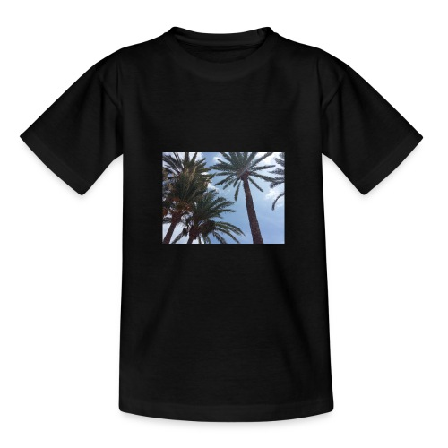 Palmendesign - Teenager T-Shirt