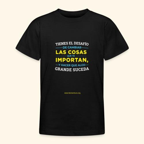 Cambia las cosas - Camiseta adolescente