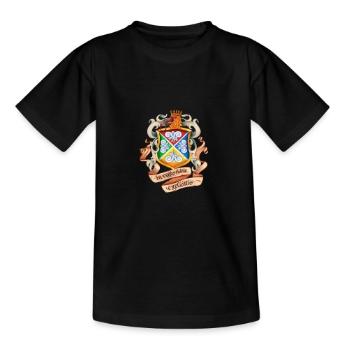 Blåkulla skolemblem - T-shirt tonåring