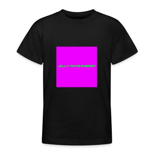 'JOLLY TOYNE IS BEAST' PROMOTION DESIGN. - Teenage T-Shirt
