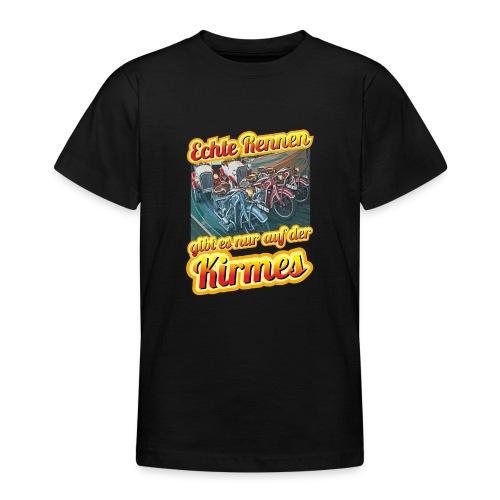 Echte Rennen gibt es nur auf der Kirmes! - Teenager T-Shirt