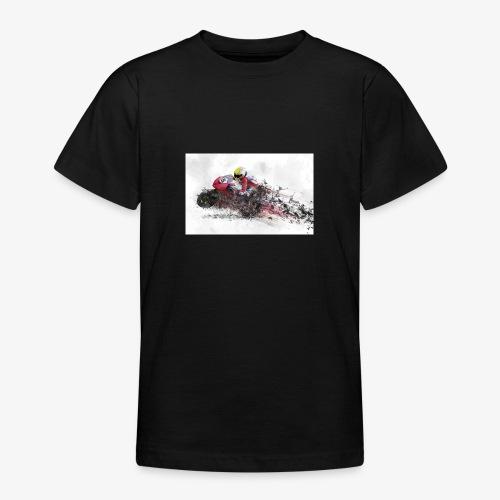 Motorradrennen. Das Geschenk für Motorradfans - Teenager T-Shirt