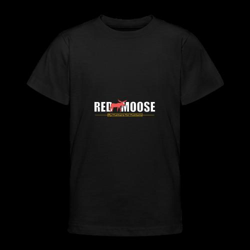 Red Moose logo - T-shirt tonåring
