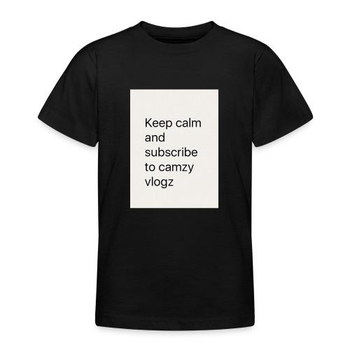 Keep calm - Teenage T-Shirt