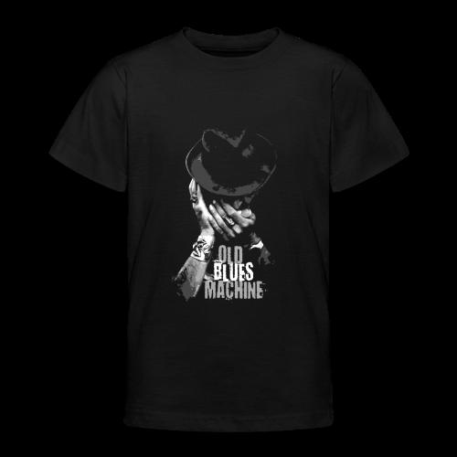 15-7 OLD BLUES MACHINE-Tekstiili- ja lahjatuotteet - Nuorten t-paita