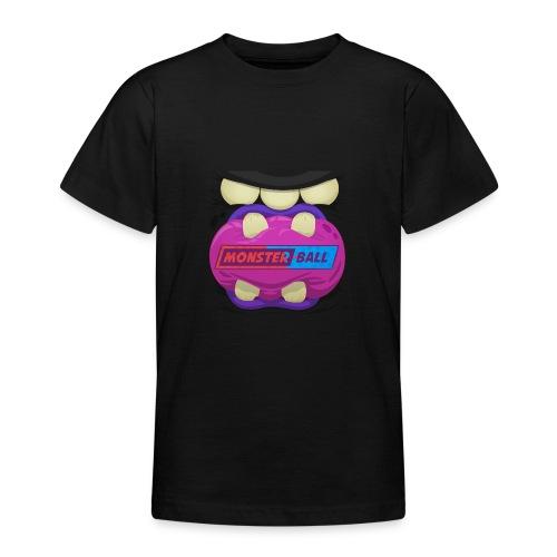 Monster Chew Logo - Teenage T-Shirt