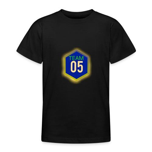 Gult lysene team05 logo - Teenager-T-shirt