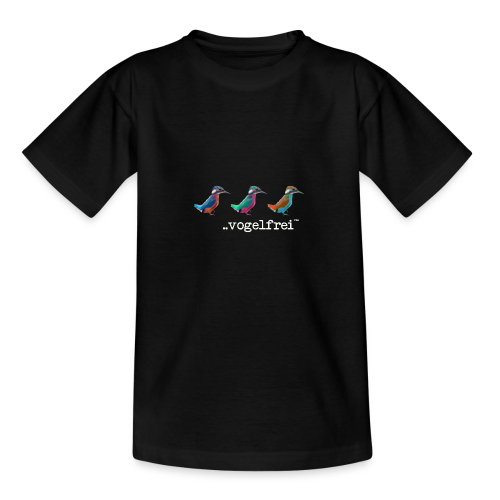 geweihbaer Vogelfrei - Teenager T-Shirt