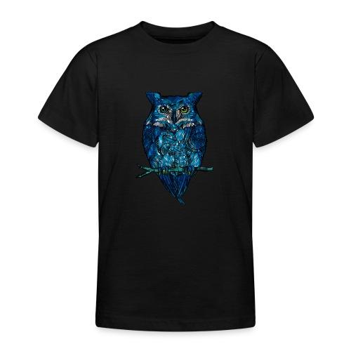 Ugle - T-skjorte for tenåringer