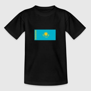 Nationalflagge von Kasachstan - Teenager T-Shirt