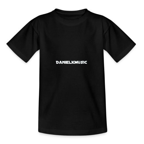 "Inscription ""DanielKMusic"" - Teenage T-shirt"