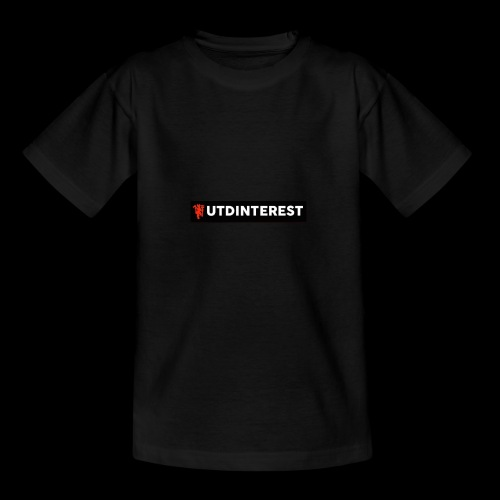 Utd Interest Logo - Teenage T-shirt