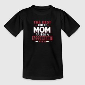 Mom Accountant moeder - Teenager T-shirt