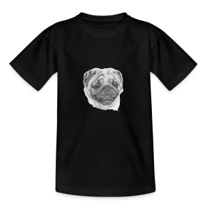 pug mops - Teenager-T-shirt
