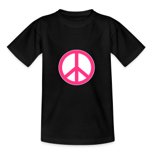 Peace, Love and Happiness - Teenager T-shirt
