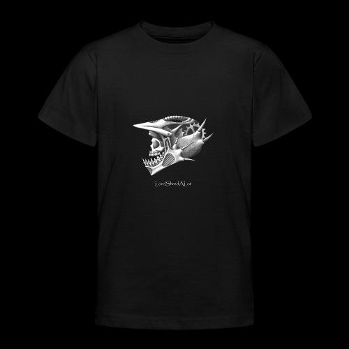 Downhill Skull - Teenager T-Shirt