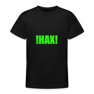 HAX-shirt by BOT SHELL - Teenager T-Shirt