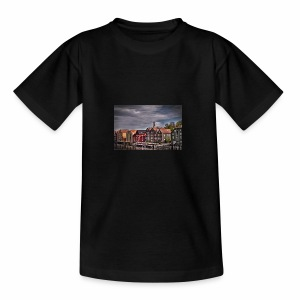 Trondheim Altstadt - Teenager T-Shirt