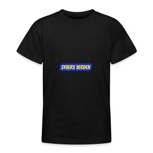 syvers verden logo - T-skjorte for tenåringer