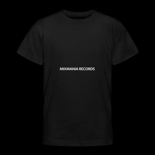 MIXMANIA RECORDS WHITE - Teenage T-Shirt