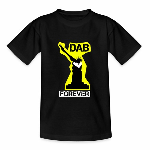 DAB FOREVER STATUE OF LIBERTY- YELLOW - Maglietta per ragazzi