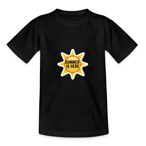 Official Summer Is Here Branded Merchandise! - Teenage T-Shirt