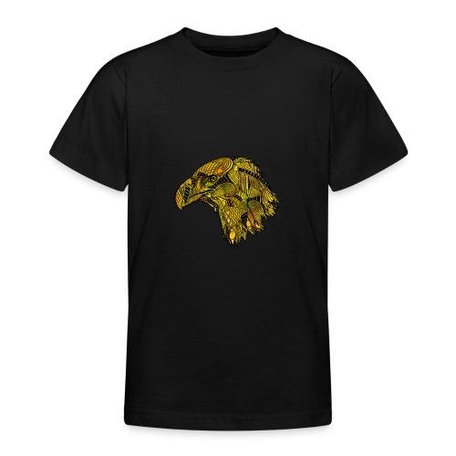Gul ørn - T-skjorte for tenåringer