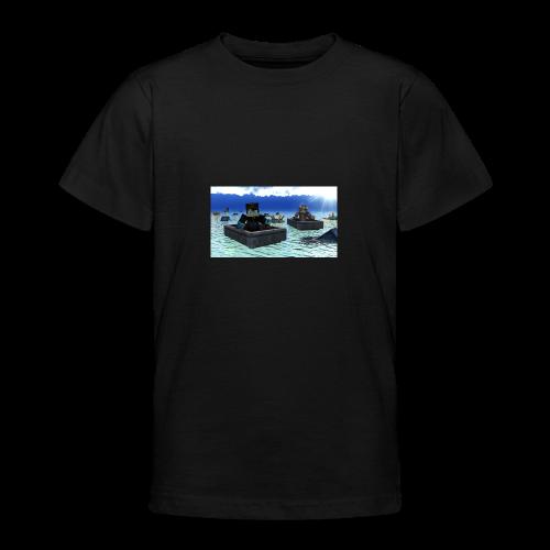 mit freundin auf der see - Teenager T-Shirt