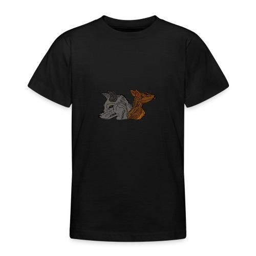 Ein unschlagbares Team - Teenager T-Shirt