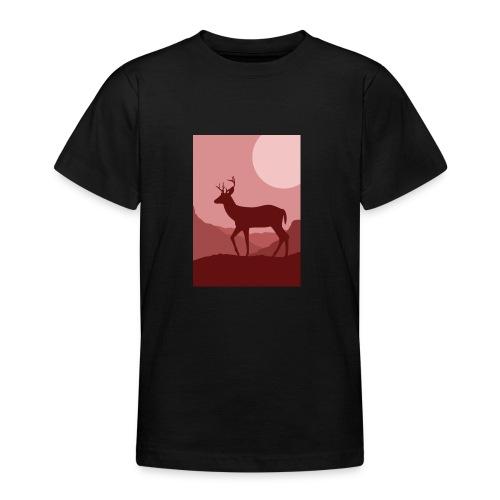 deerprint - Teenager T-Shirt
